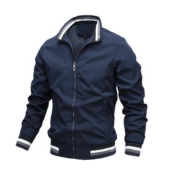 Mens Fashion Jackets and Coats New Men's Windbreaker Bomber Jacket 2020 Autumn Men Army Cargo Outdoors Clothes Casual Streetwear 5