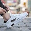 Мужские кроссовки  Белые Повседневные кроссовки  модная Уличная обувь для мужчин  весна 2019