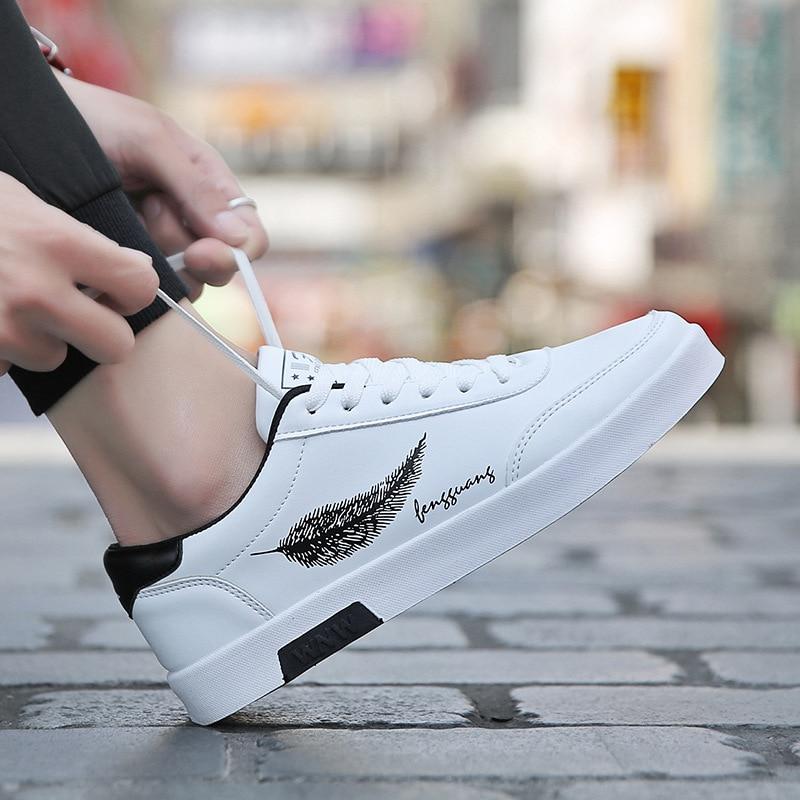 2019 Spring White Shoes Men Shoes Men's Casual Shoes Fashion Sneakers Street Cool Man Footwear Zapatos De Hombre