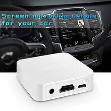 Mirascreen x7 g2 dongle receptor de tv carro sem fio wi fi hdmi miracast hdtv exibição vara para iphone 11 para huawei p20 ios android