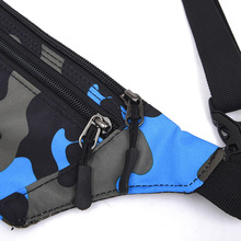 Camouflage Waist Bag Pack Bum Pouch for Walking Climbing Running Outdoor Sports HB88 tanie tanio Talii NYLON Unisex Running Waist Bags