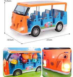 Image 5 - Peppa豚ジョージおもちゃセットロードスターステーションワゴン家バス人形セットアクションフィギュアのおもちゃ子供の漫画の誕生日ギフト