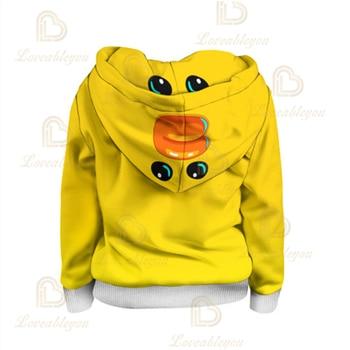 3T To 16T Children's Sweatshirt 3D Game Stars Sally Leon Boys Hoodie Anime Hoodie Sweatshirts 4t to 16t kids