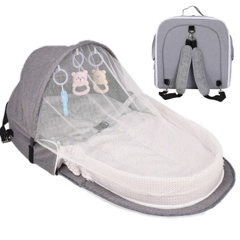 Travel Bed Baby Nest Bed Portable Crib Mosquito Net Infant Toddler Cotton Cradle for Newborn Baby Bed Sleeping Basket Cot newborn basket portable baby basket wicker woven sleeping basket car baby basket baby cradle bed