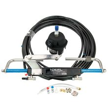 Boat Hydraulic Steering System Kit Marine Outboard Steering Cylinder Helm 90HP