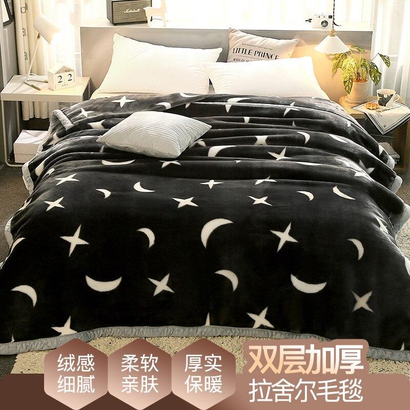 Novo design raschel cobertores para o miúdo dos desenhos animados cobertor lance cobertor de cama alta qualidade grosso quente no sofá cama cf - 5