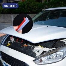 Przezroczysta gumowa uszczelka samochodowa typu Z odporna na kurz dekoracja tłumiąca hałas o wysokiej gęstości akcesoria samochodowe