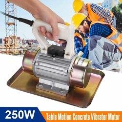 220 فولت 250 واط 0.25KW الجدول الحركة هزاز ملموس قابل للحمل موتور المحمولة أداة بناء باليد هزاز ملموس قابل للحمل موتور جديد