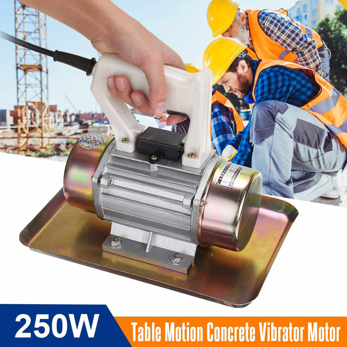 220V 250W 0.25KW Table Motion Concrete Vibrator Motor Portable Construction Tool Hand-held Concrete Vibrator Motor New