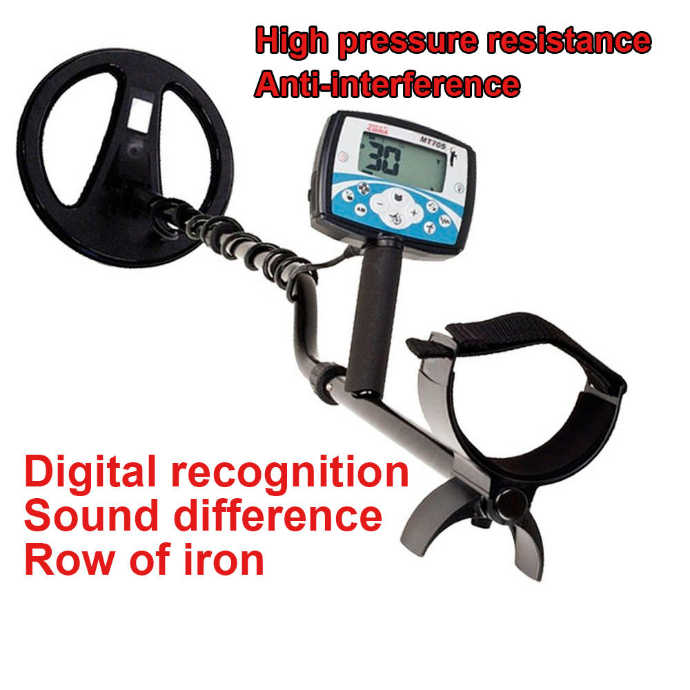 MT705 Portable Metal Detector  Waterproof Underground Handheld High Sensitivity Excavator Treasure Instrument Precision Detector