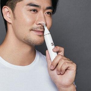 SOOCAS N1 электрический триммер для волос в нос Мини Портативный ушной нос Бритва для волос водонепроницаемый Безопасный Очиститель инструмен...