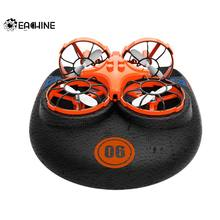 Eachine E016F 3-in-1 EPP Flying Air Boat Land Driving Mode Detachable One Key Return RC Drone Quadcopter RTF(China)