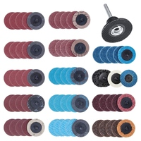 70Pcs Sanding Discs Set 2 Inch Quick Change Discs with 1/4 Inch Holder Surface Conditioning Discs for Die Grinder Surface Strip|Sanding Discs| |  -