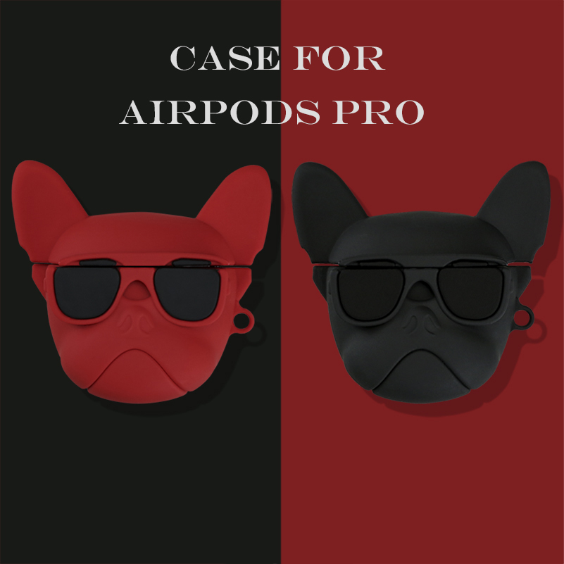 3D Soft Silicone Case for AirPods Pro 7
