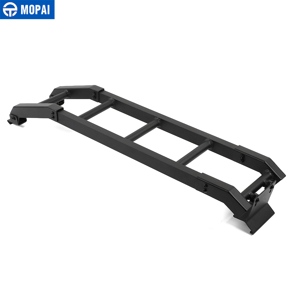 Image 2 - MOPAI Protective Frames for Suzuki Jimny JB74 2019+ Car Rear Door Tailgate Ladder Accessories for Suzuki Jimny 2019+Protective Frames   -