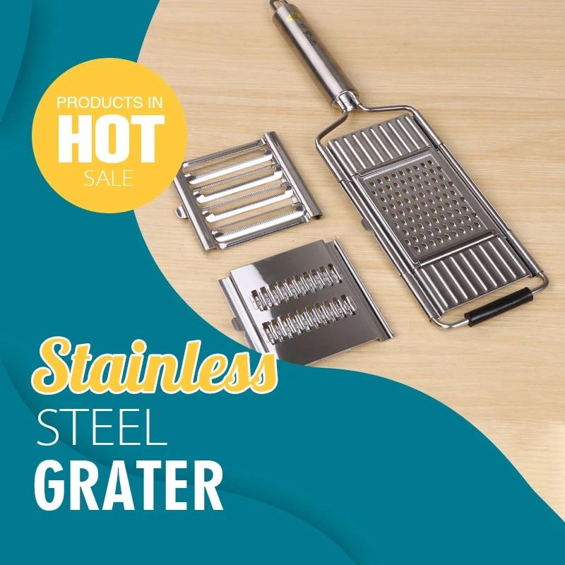 Multi-purpose Vegetable Slicer Stainless Steel Grater Cutter Shredders Fruit Potato Peeler Carrot Grater Kitchen Accessories New