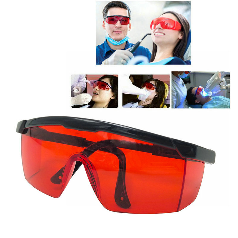 Protective Safety Goggles Glasses Teeth Whitening Goggles Dental Eye Protection Spectacles Eyewear Anti-shock Goggles