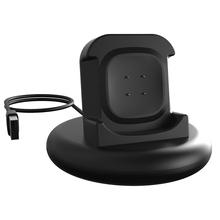 Stacja do ładowania dla Fitbit Versa3 sensie ładowarka do inteligentnego zegarka stacji bazowej przenośny zegarek z USB Adapter do kabla ładowarki tanie tanio POWKIDDY CN (pochodzenie) Ładowarki Chargers Adult Other Start message