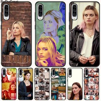 Emma Mackey Maeve Wiley Phone Case For Samsung A10 20 30 40 50 70 10S 20S 2 Core C8 A30S A50S A7 8 9 image