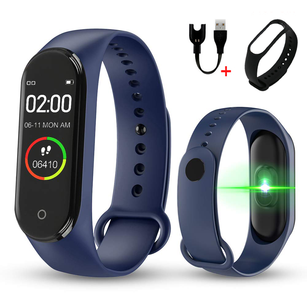 Watch Pedometer Activity-Tracker Calorie-Counter Wearable Color-Screen Health Running title=