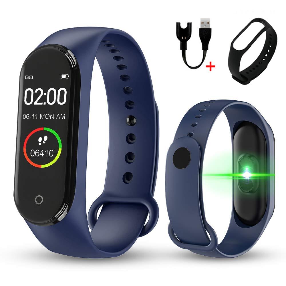 Smart Wearable Watch for Women Men with Color Screen Waterproof Running Pedometer Calorie Counter Health Sport Activity Tracker