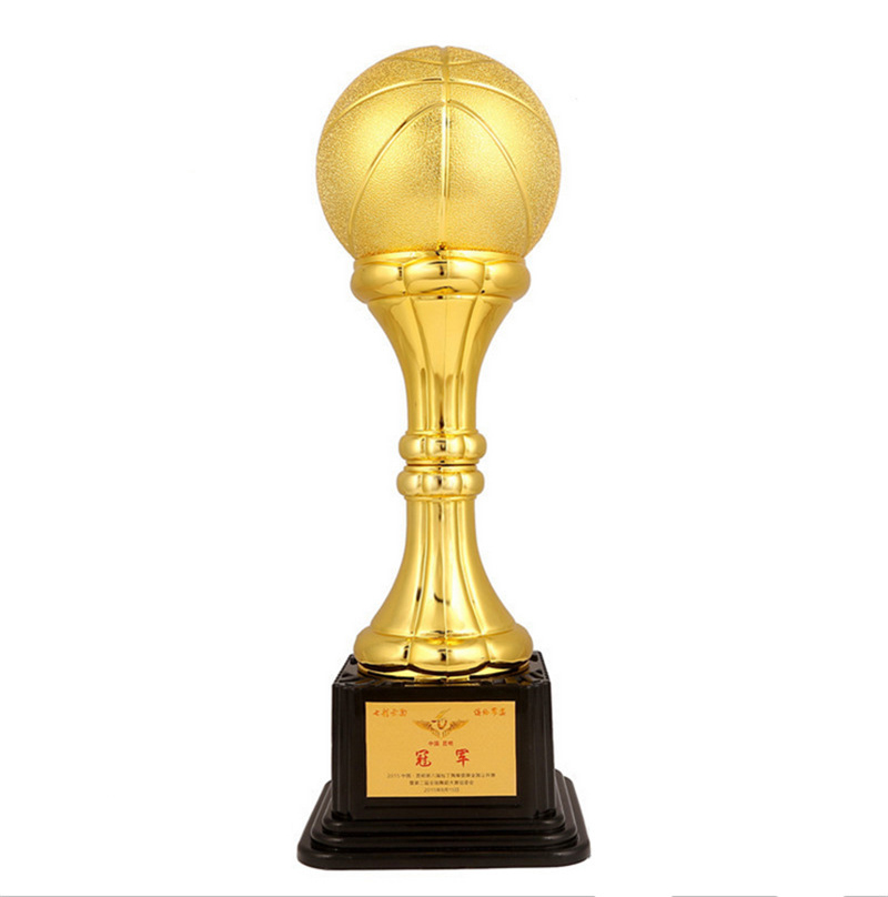 Customizable High End Trophy Basketball Trophy Cup Champions League  Football And Sports Competition Craft Souvenir Ornaments