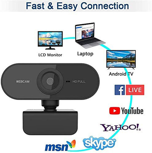 1080P/720P Webcam Conference USB Para PC Web Camera With Mic Interface With For Video Calling Network Teaching Office Meeting 4