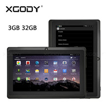 7 inch Android Touch Tablet PC Android 8.1 Quad Core Wifi Tablet PC 1 GB 3 GB 16 GB 32 GB double screen TF 2.5D HD