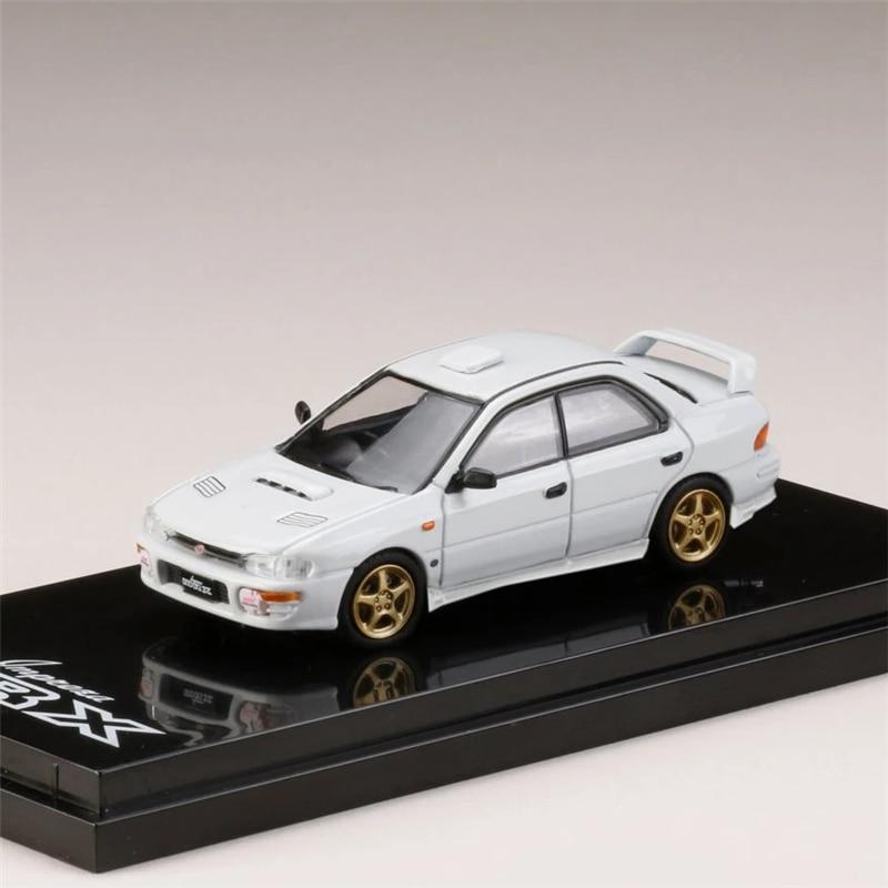 Hobby Japan 1:64 Subaru Impreza WRX GC8 Type RA STi Version II Active Diecast Model Car
