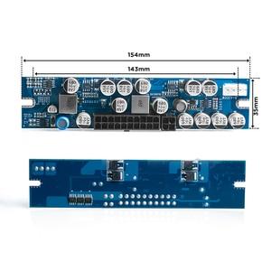 Image 3 - RGEEK 12V 300W DC DC ATX PSU Pico Interruptor ATX PSU Pico de Mineração 24pin MINI ITX DC para ATX fonte de Alimentação do PC Para Computador do carro