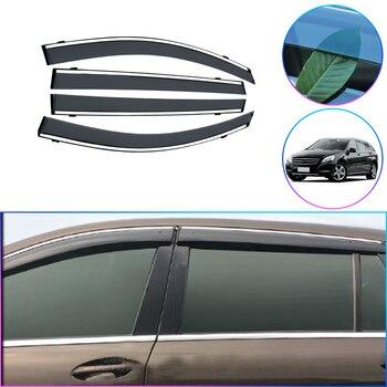 Injection molding Window Visor Vent Shades Sun Rain Guard For Mercedes Benz R320 350 400 450  2006 2007 2008 2009 2010 2011-2017