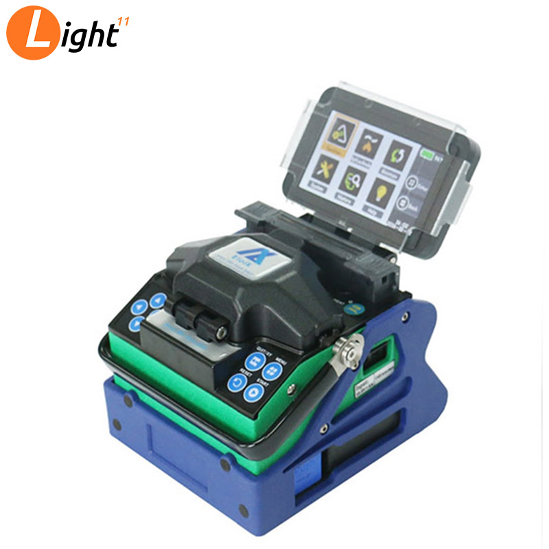 Multilanguage Eloik ALK-88A 7s Fast Splicing Fusion Splicer Support Chinese, English, Russian, Portuguese, French, Spanis