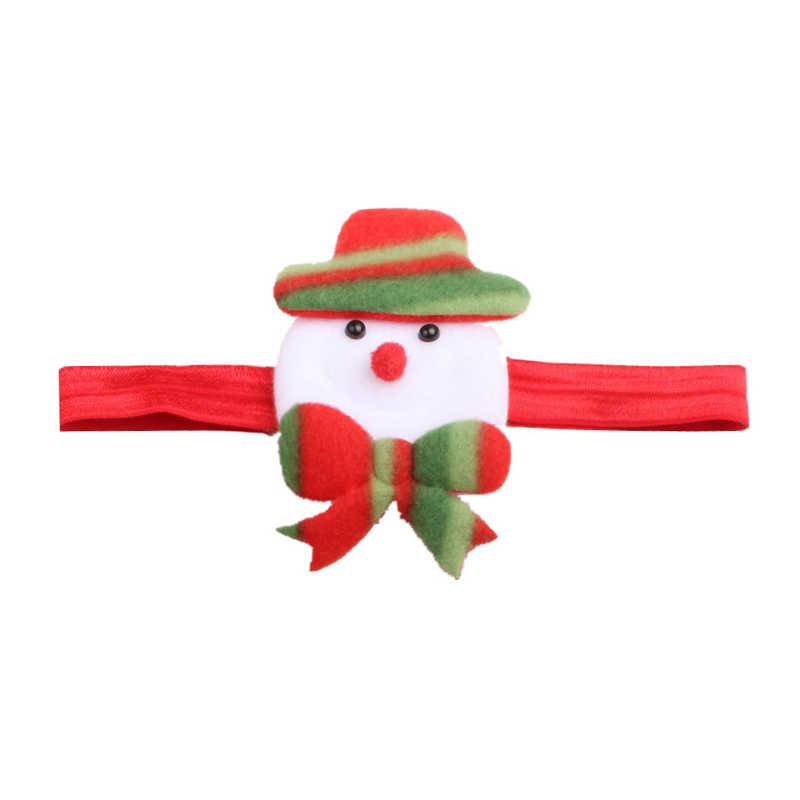 Gorros para bebé Flor de Navidad bebé niña diadema cinta de pelo infantil sombrero recién nacido tiara diadema regalo niños pequeños vendaje