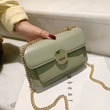Fashion Chains Women Shoulder Bags Designer Brand Square Female Crossbody Messenger Bag Luxury Pu Leather Small Flap Lady Purses fashion designer flap lady brand women shoulder bag chains swallow lock messenger bags genuine leather handbag original quality