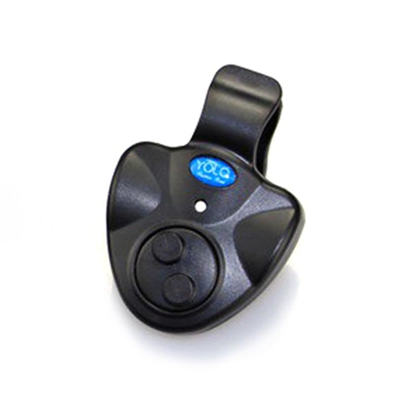 Portable New LED Light Fishing Alarms Alarm Fishing Line Carp Bite Indicator Buffer Fishing Rod Gear Alert Loud Alarm Supplies
