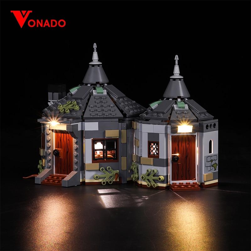 Vonado Led Light For Lego 75947 Hagrid Hut Buckbeak Rescue Building Bricks Creator City Technic Blocks Toys (Only Light)