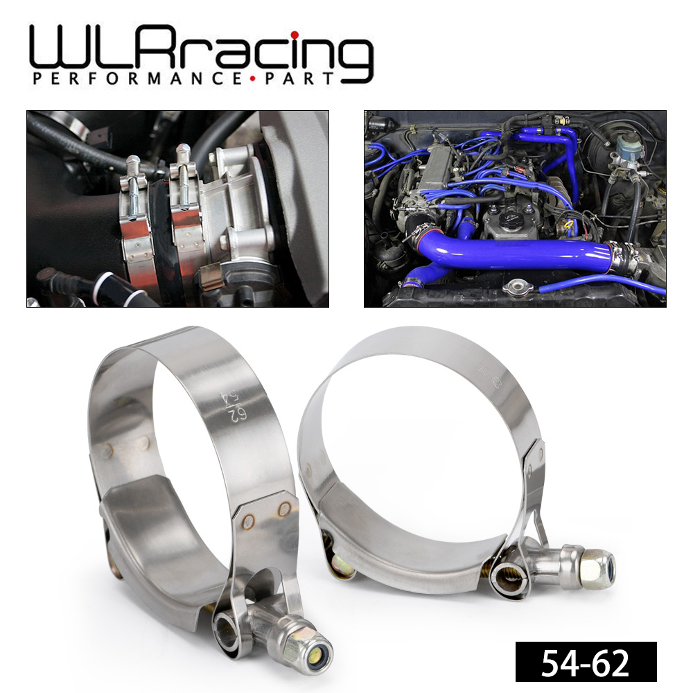 WLR RACING - (2PC/LOT) SS304 CLAMPS 2