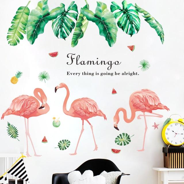 Creative Tropical Tree Leaf Stickers 8