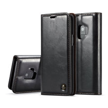 Fashion PU Leather Flip wallet case for Samsung galaxy S6 S7 S8 S9 S10 plus Magnetic Holder Cover Note8 Note9 Case