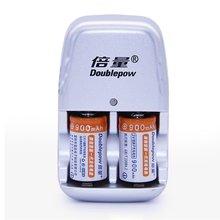 2 шт./лот 900 мАч CR2 набор перезаряжаемых батарей литиевая батарея DC 3,6 В с быстрым зарядным устройством несколько защитных систем