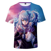 ThatTimeIGotReincarnatedasaSlime T-shirts Boys/girls Summer Short Sleeve Children Tshirts Casual Streetwear Anime Clothes