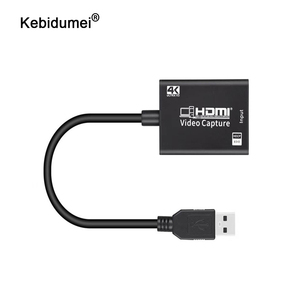4K HDMI USB Capture Card Adapter USB 3.0 To HDMI Video Capture Grabber Record Box 1080P for Game Recording Live Streaming