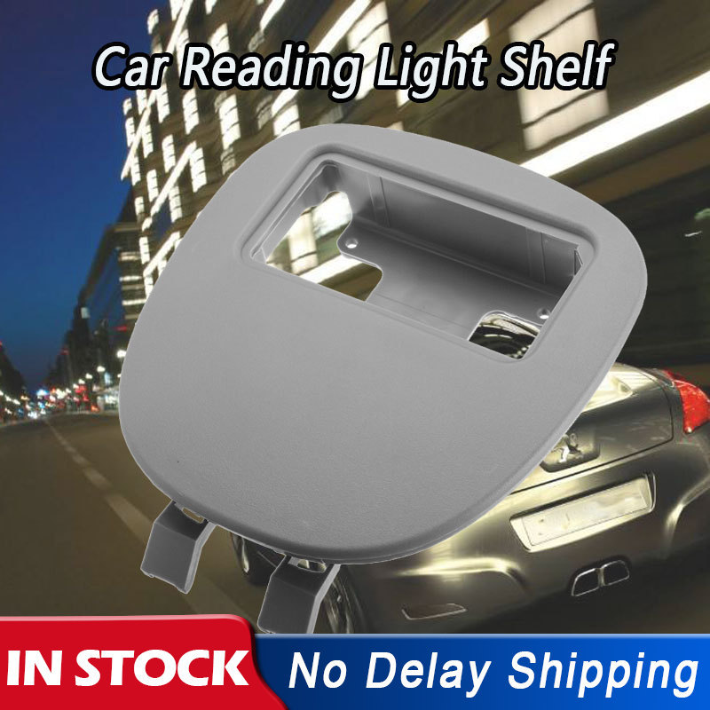 1Pc Car Auto Front Interior Dome Reading Light Shield Panel Cover Lamp Shelf Light For Peugeot 206 207 For Citroen C2 9625049077(China)