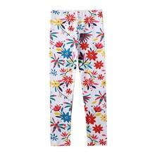 Girls Leggings Pants Jumping-Meters Spring Trouser Kids Baby Autumn Children Flower