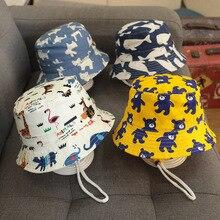 Baby Bucket Hats Summer Children UV Protection Panama Sun Hat Kid Camping Fishing Cap Girls Boys Beach Caps 6 months to 12 years
