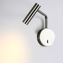 Zerouno Bedroom Embedded LED Wall Light Bedside Reading Lamp Folding Mounted Wall Lamp Hotel Cafe Angle Adjustable Wall Sconce