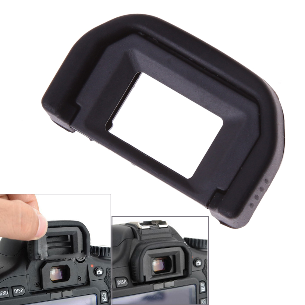 EF Viewfinder Eyecup Black Rubber Eyepatch Camera Replacement Part Eyepiece For Canon DSLR 550D 500D 450D 1000D 400D 350D 600D