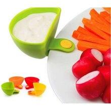 Кухонные инструменты Dipzy зажимы для окунания соуса держатели для трав специй инструменты для еды кетчуп барбекю синий ранчо туалетный ящик комплект