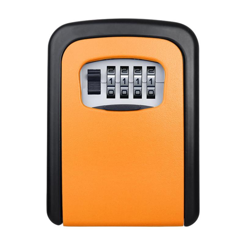 Safe-Box Key-Storage Hidden-Keys Outdoor Weatherproof Password-Lock 4-Digit-Combination