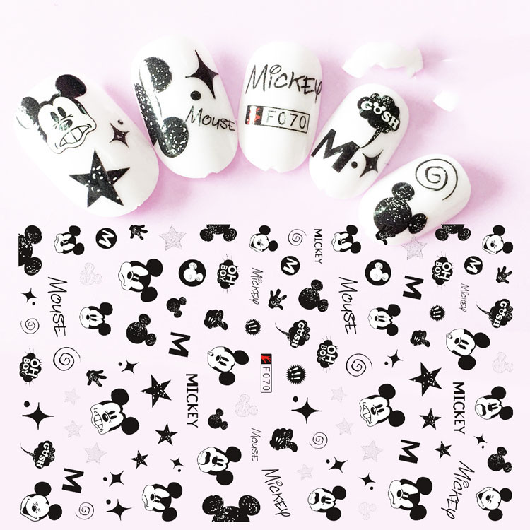 Nail Sticker Decals 3D Nails Slider Art Star Design Decoration Manicure Tips Foil Adhesive Wraps Pegatinas Polish
